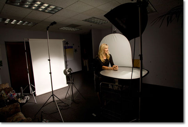 corporate headshot setup : lighting for headshots - azcodes.com